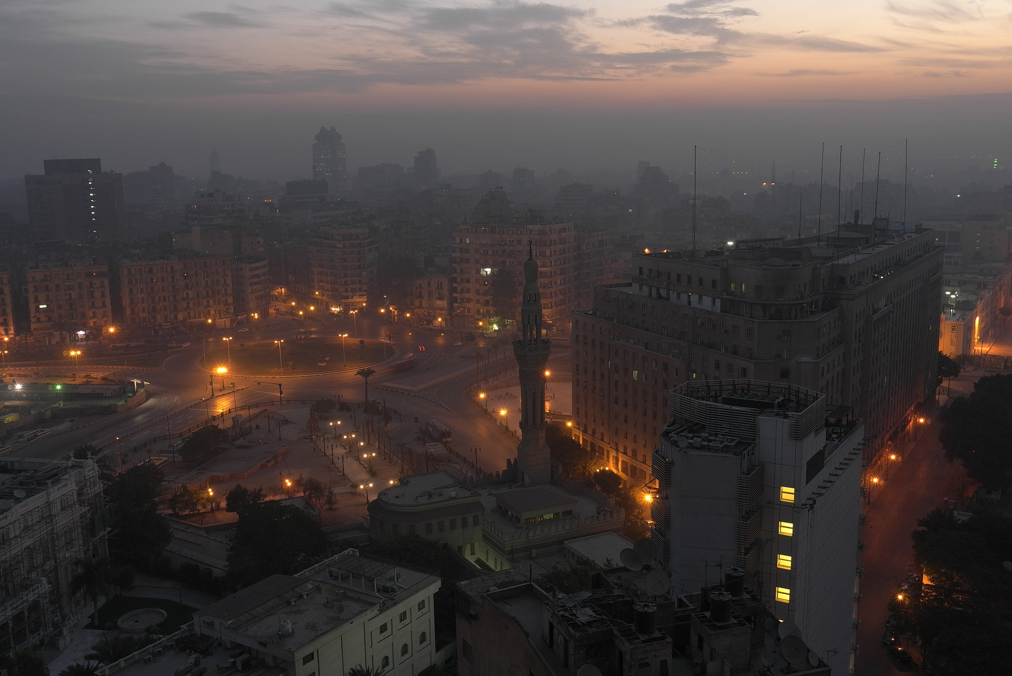 Tahrir Square. Photography by Frank Schulenburg.